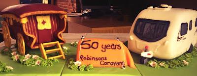 Caravan Cake, Gypsy Wagon Cake, Tent Cake