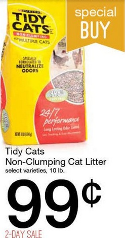 Special kitty cat litter printable coupons