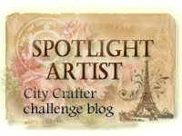 City Crafter Challenge Blog Spotlight Artist - It's a Fabrication ~ August 2012