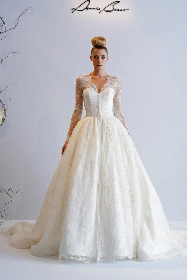 Dennis basso 2013 spring bridal wedding dresses for Grace kelly wedding dress collection