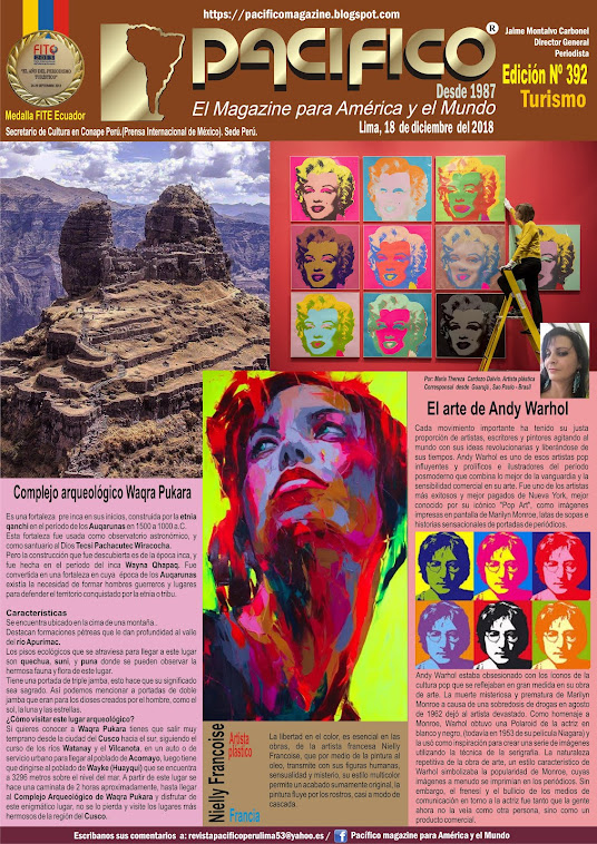 Revista Pacifico N° 392 Turismo