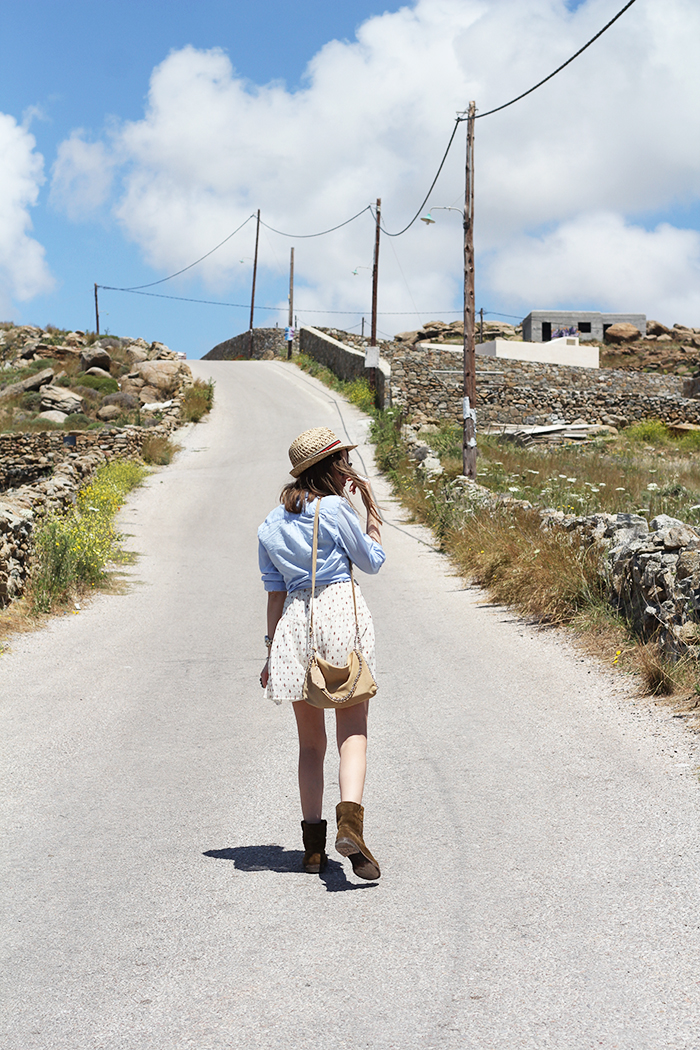 Fashion and style: Mykonos / Look of the day