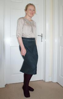 Alma Wiggle Skirt