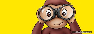 Cute Cartoon Monkey Facebook Timeline Cover