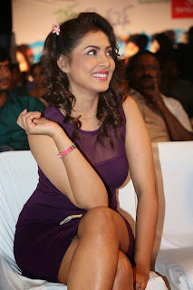 Madhu Shalini Looks Spicy in Short Tight transparent Dress at Ladies and Gentleman Audio Launch