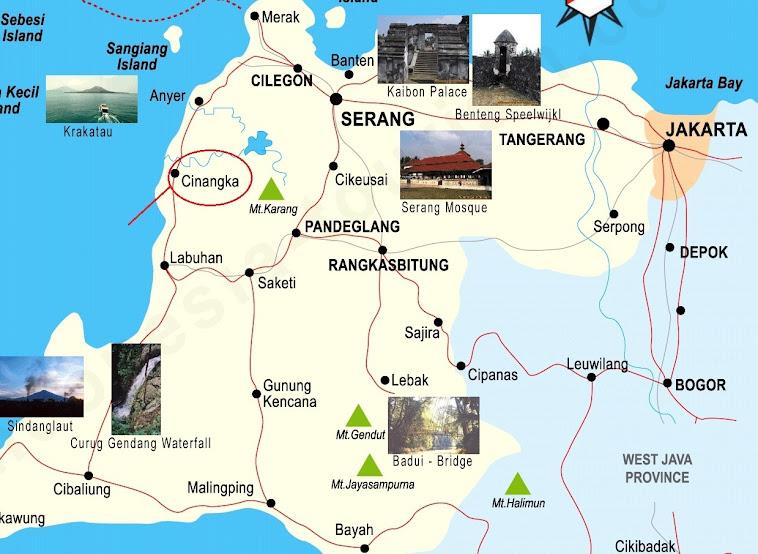 Peta lokasi MA Darul Anwar
