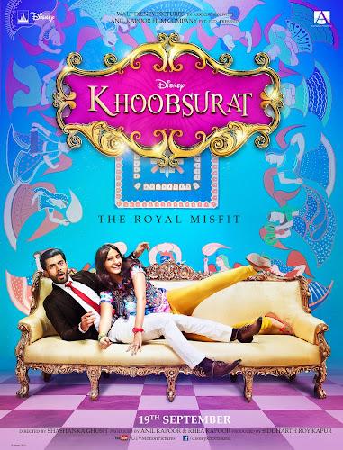 Khoobsurat (2014) Movie Poster No. 1