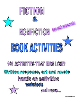 photo of 101 Book Activities Kids Love, PDF, books, reading, ELA, book reports