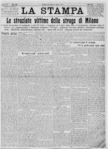 LA STAMPA 25 MARZO 1921