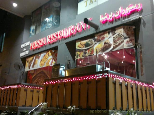 Persia Restaurant, Amwalk