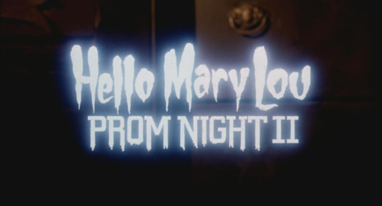 Love midnight movie of the week 136 hello mary lou prom night ii