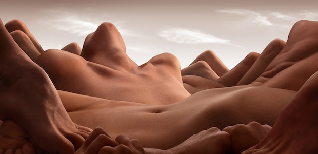 Bodyscapes: Creating Landscape Photos With the Human Body