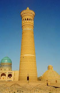 kalyan minaret bukhara spared by genhis khan
