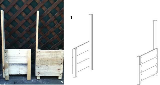 Como hacer un baul con un palet taringa - Como decorar un baul de madera ...