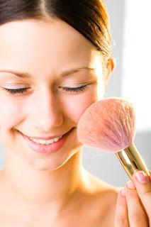 rubor maquillaje