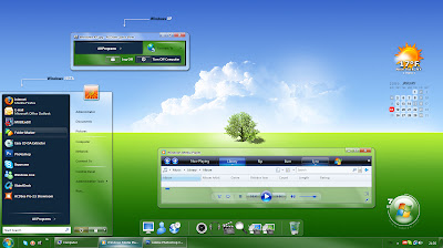 Here Is 120 Windows Blind 7 Theme Pack Include Some Widget To Suite With The Theme