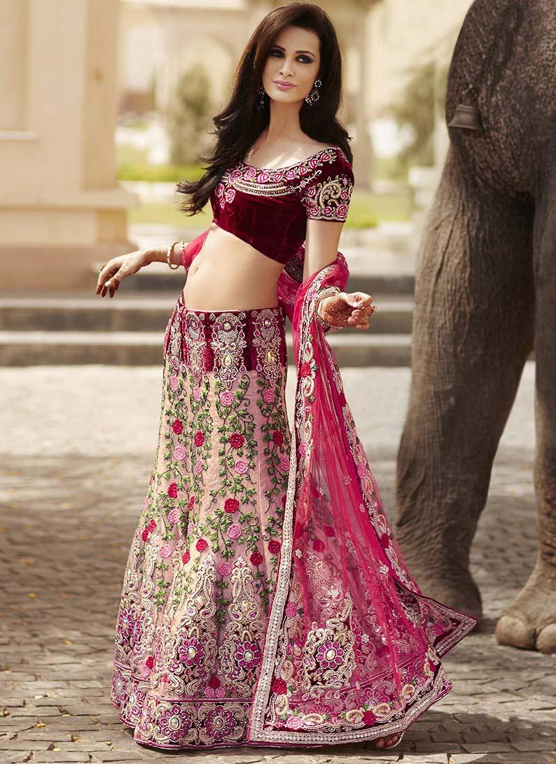 Indian Bridal Lehnga Choli Collection 2013-2014 | Designer Lehenga Choli ~ U2022u2665u2022Naina Jee Bridal ...