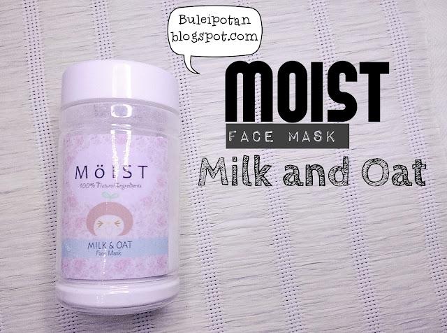 Masker susu dan oat