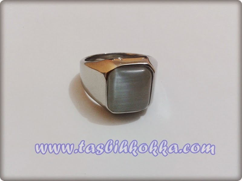 Cincin Cat Eye Putih