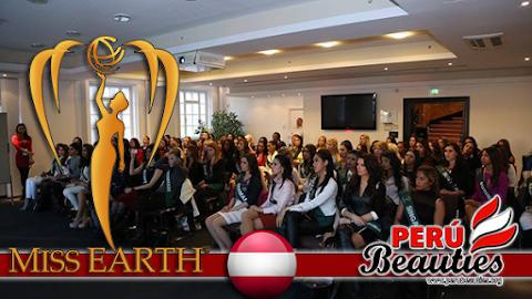 Environment Seminar at Novomatic Forum Vienna - Miss Earth2015