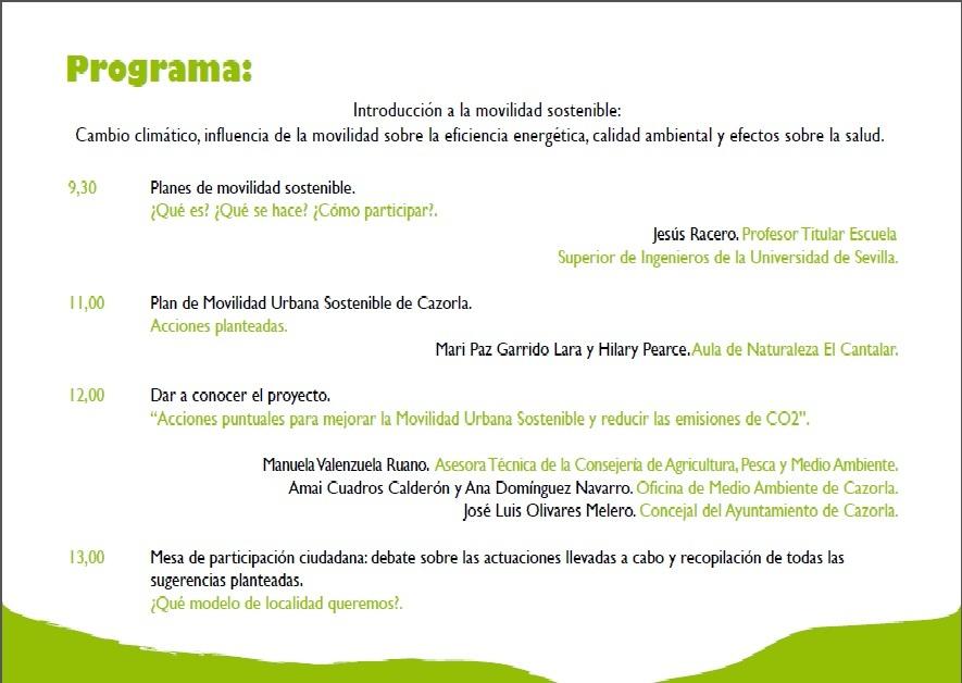 Bolet n de la oficina de medio ambiente de cazorla junio 2012 for Oficina de medio ambiente