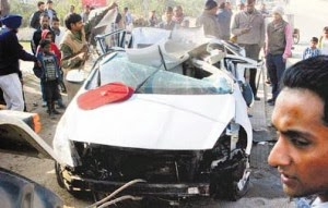 Zirakpur in Two Road Accidents: 3 Killed