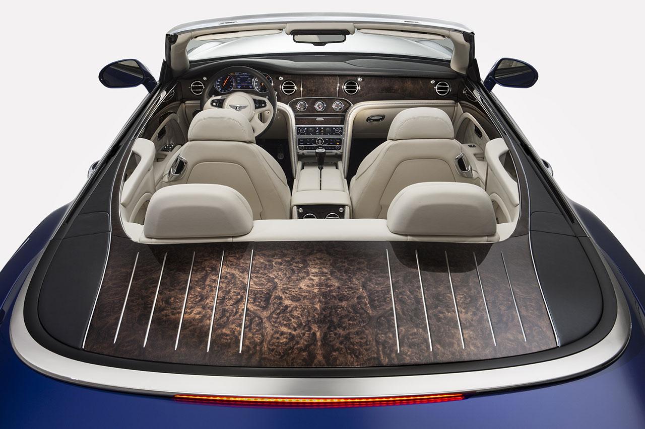 Bentley Grand Convertible detail