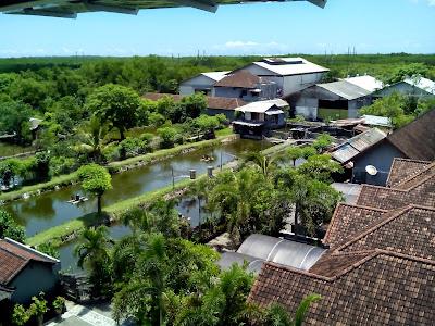 Photo Pandangan Dari Lantai Tiga Gedung Subaru Bali