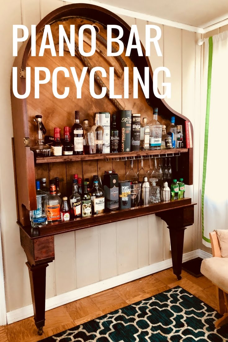 Astounding Diy Upcycling Foto Von Piano Bar - Upcycle An Old Piano