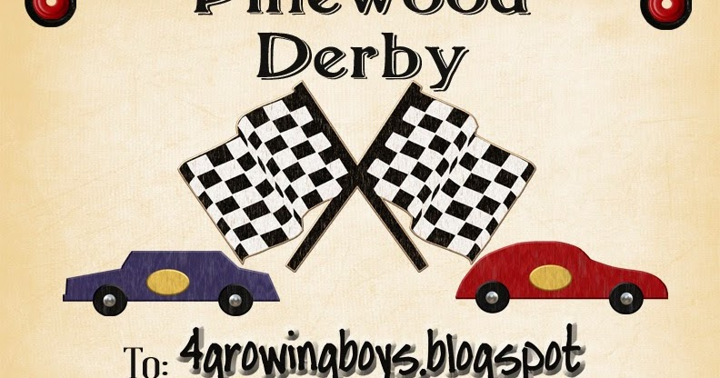 picture regarding Pinewood Derby Awards Printable identify 4 Rising Boys: Pinewood Derby Certification Printable