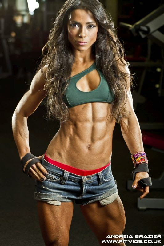 Andreia Brazier-female fitness bodybuilding beauties-brazilian fitness models