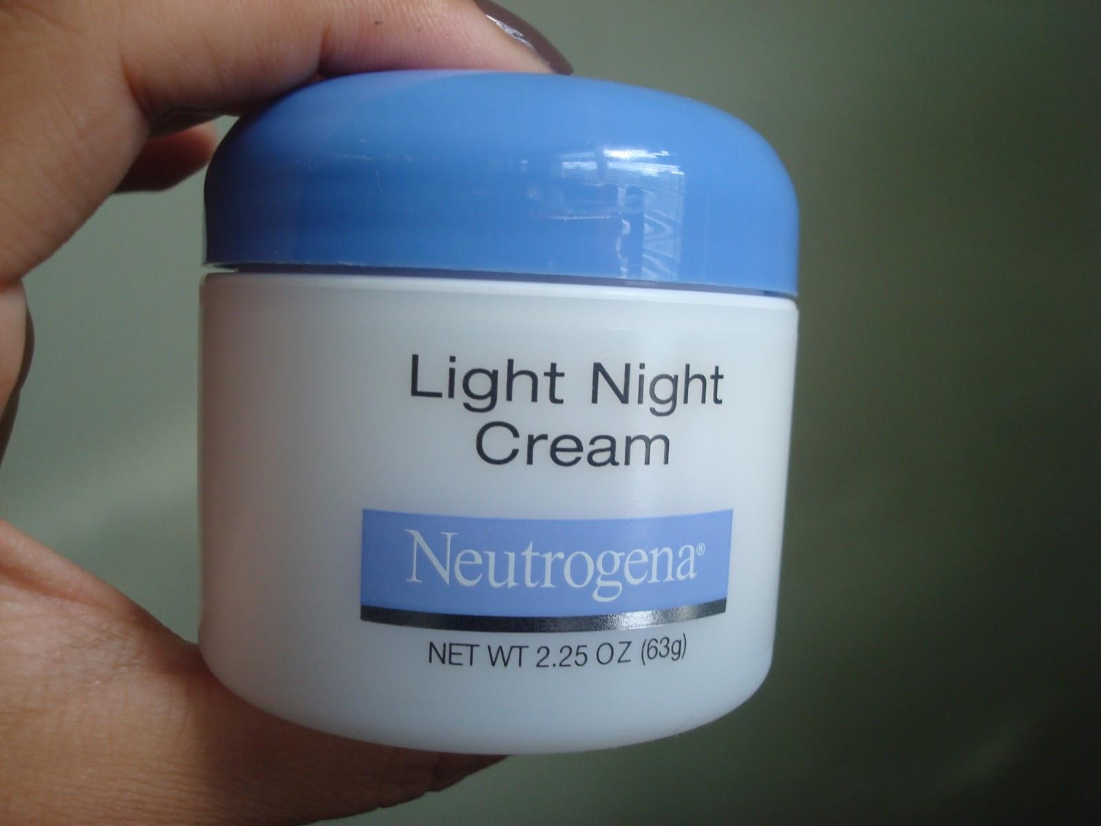 night cream brands neutrogena light night cream review cheap makeup. Black Bedroom Furniture Sets. Home Design Ideas