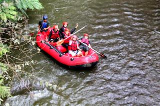 Rafting Pangalengan Bersama Blogger dan Dewa SEO