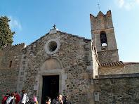 Façana principal de Sant Julià d'Alfou