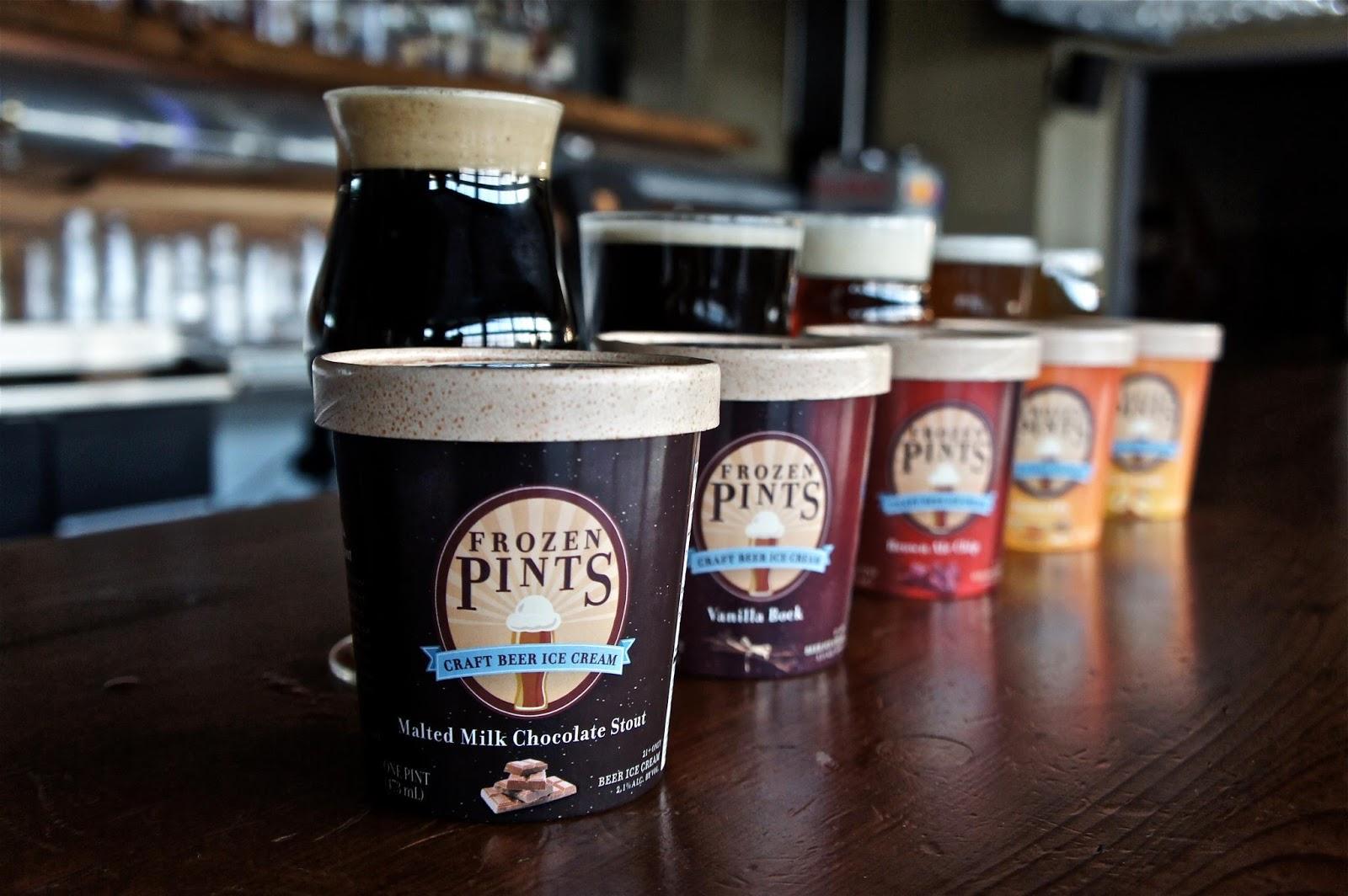 The Ice Cream Informant: Frozen Pints Craft Beer Ice Cream