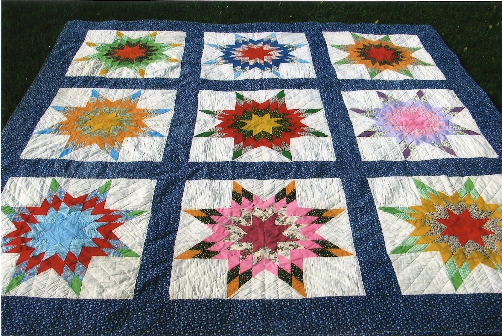 The Golden Wedding Anniversary Quilt