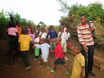 Kigali Orphans, Rwanda -- Just before getting their soccer ball