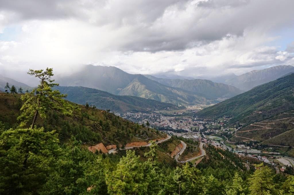 spectacular Thimphu Valley