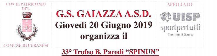 Trofeo B. Parodi Spinun
