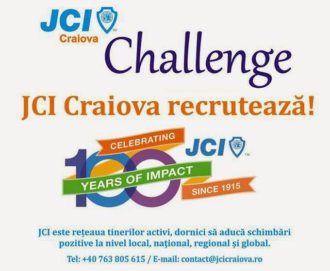 JCI Craiova recruteaza. Te intereseaza?