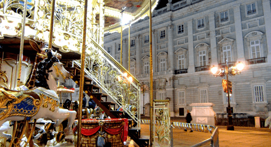Noria - Plaza Oriente - Madrd
