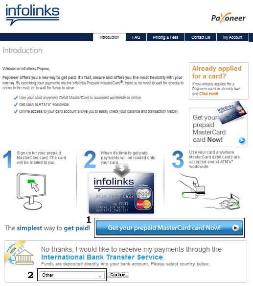 Cara Mendaftar Kartu Kredit Payoneer Infolinks 3