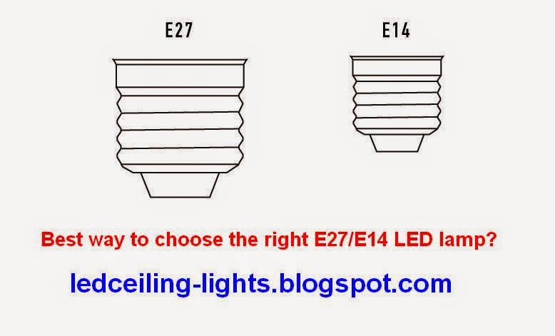 E27/E14 LED lamp