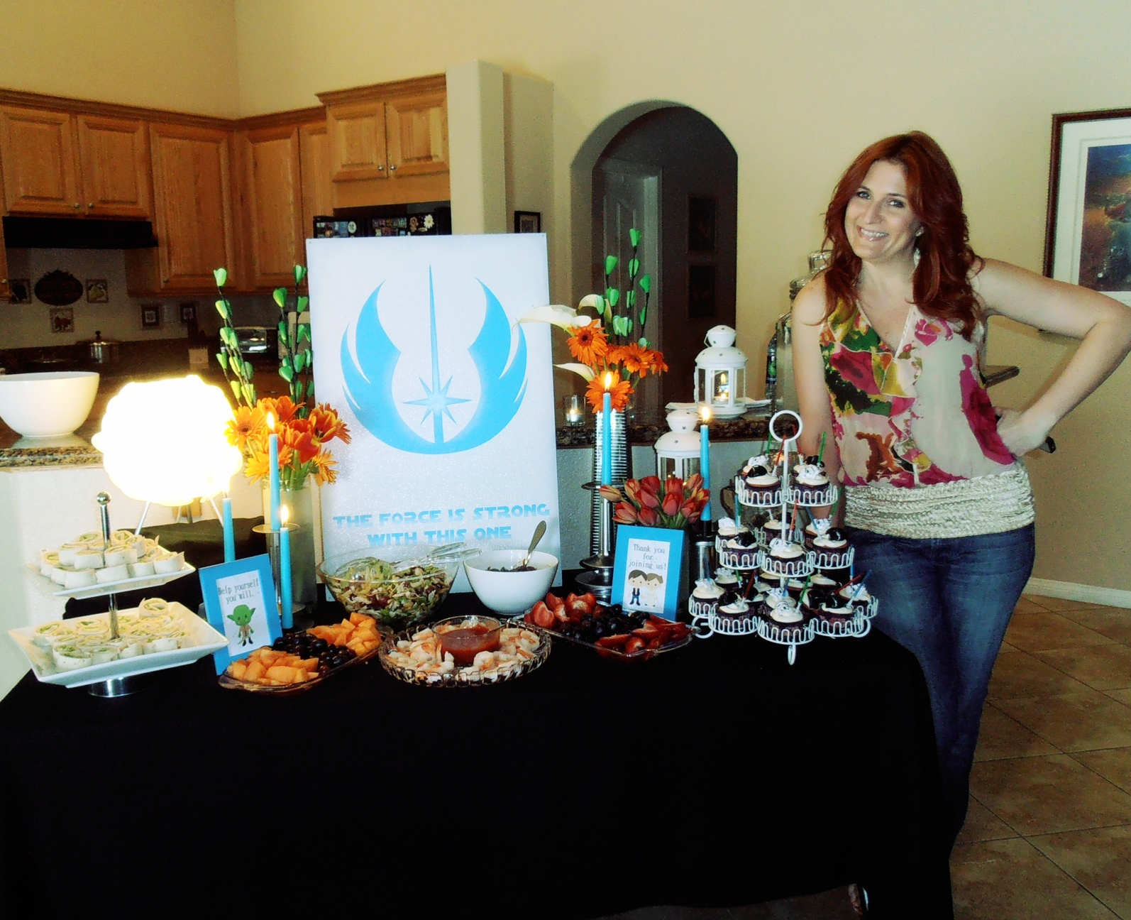Everything Nonsense A Star Wars Baby Shower