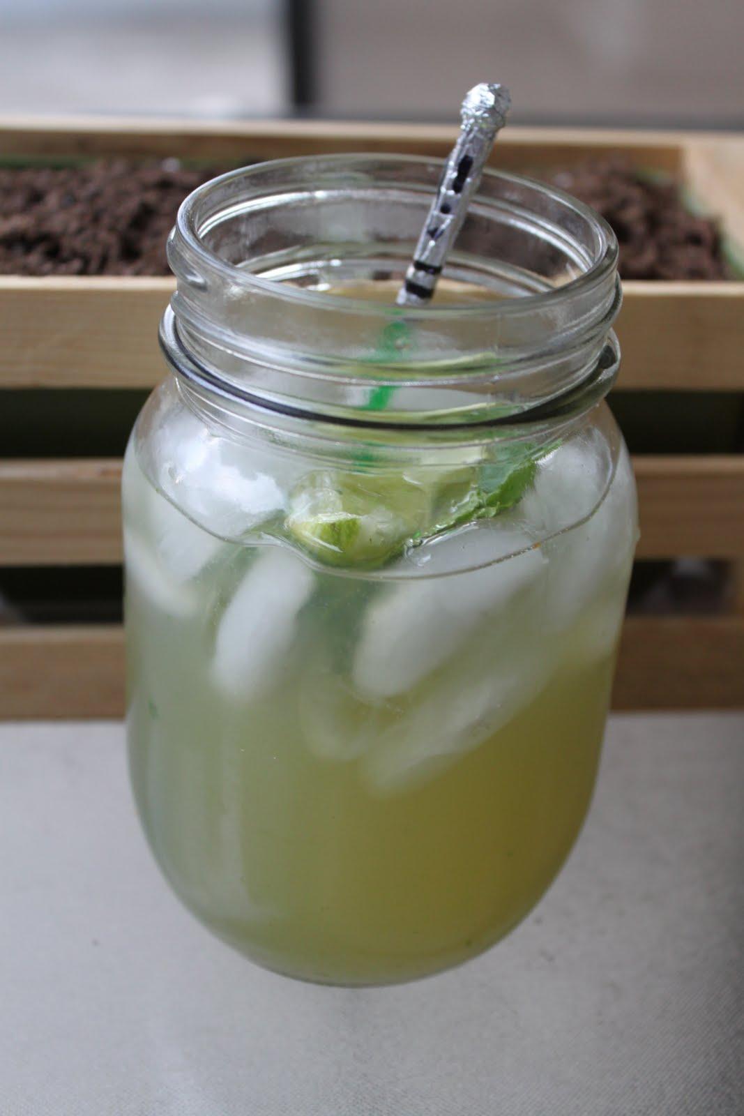 Mint Mojito Mixed Drink