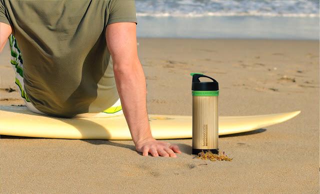 Bamboo Bottle: garrafa d'água de bambu