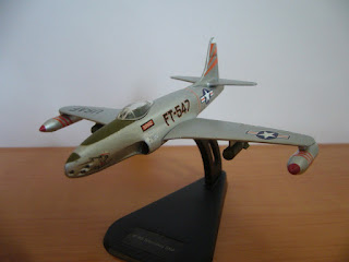 modelismo aereo en miniatura USAF Lockheed P-80/F-80 Shooting Star