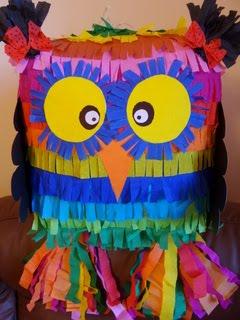 Piniata Sowa - super prezent na urodziny