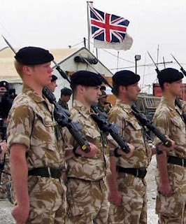 British Army Jobs and Role Models in Background