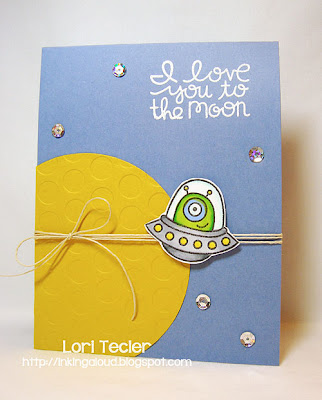 I Love You to the Moon-Designed by Lori Tecler-Inking Aloud-stamps from Paper Smooches